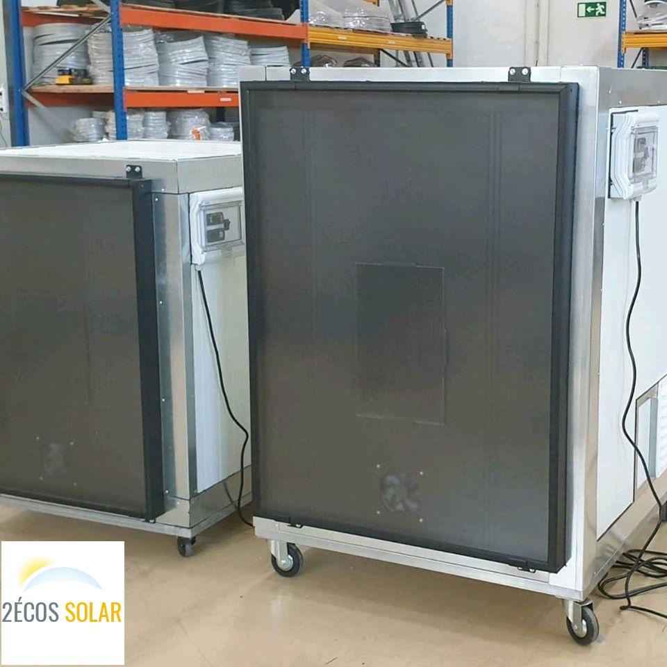 Nos modules de séchoir solaire autonome